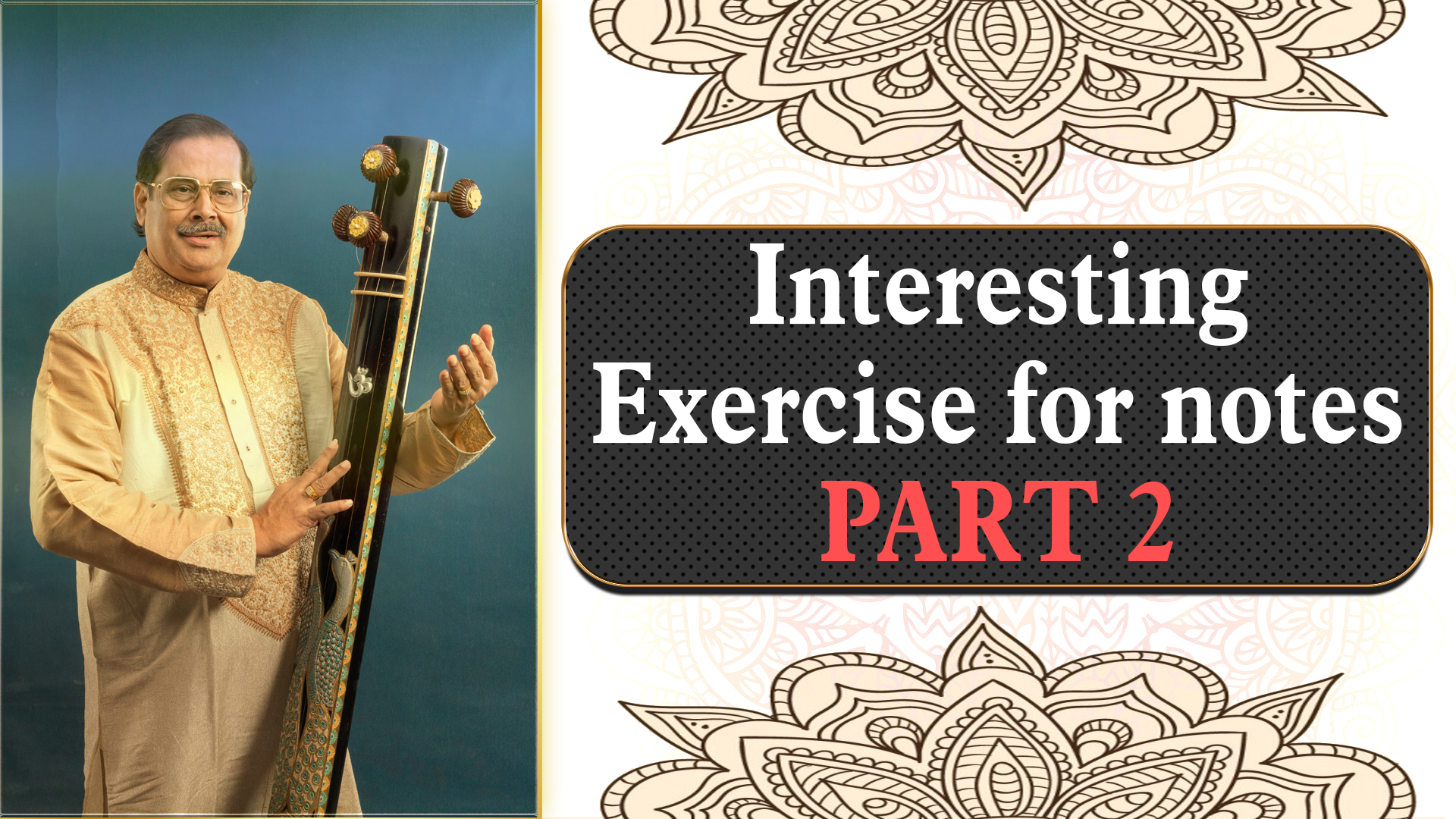 9- Interesting Exercise for Disorganized notes with Taal cycle and all categories of notes